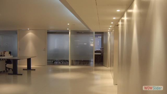 Piso epoxico - oficinas